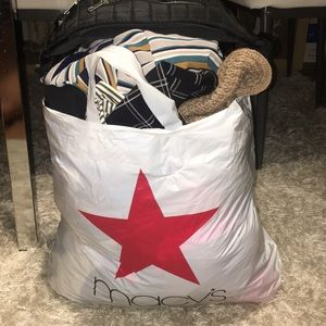 MYSTERY CLOTHING BAG